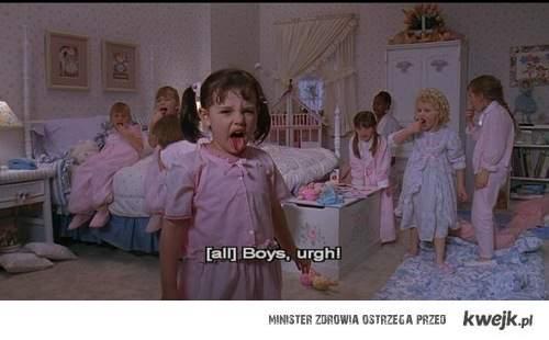 boys? ugh!