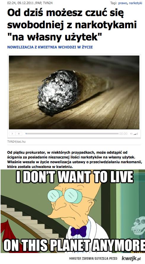 precz z marihuaną