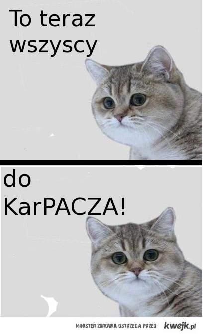 Ja pacze a tu Karpacz