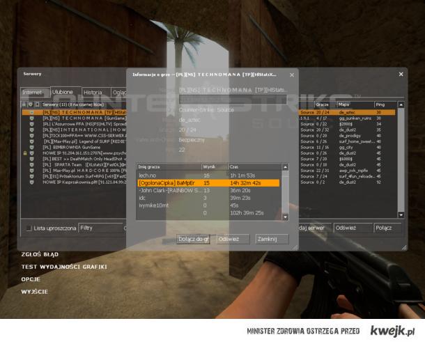 Prawdziwy Gracz Counter Strike