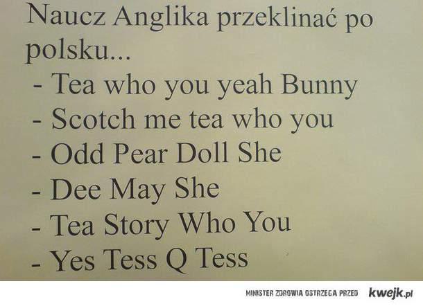 Naucz anglika...