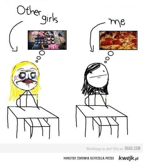 inne dziewczyny i ja