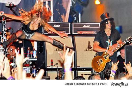 Slash i Fergie <33