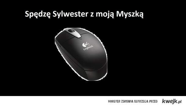 Sylwester z myszką