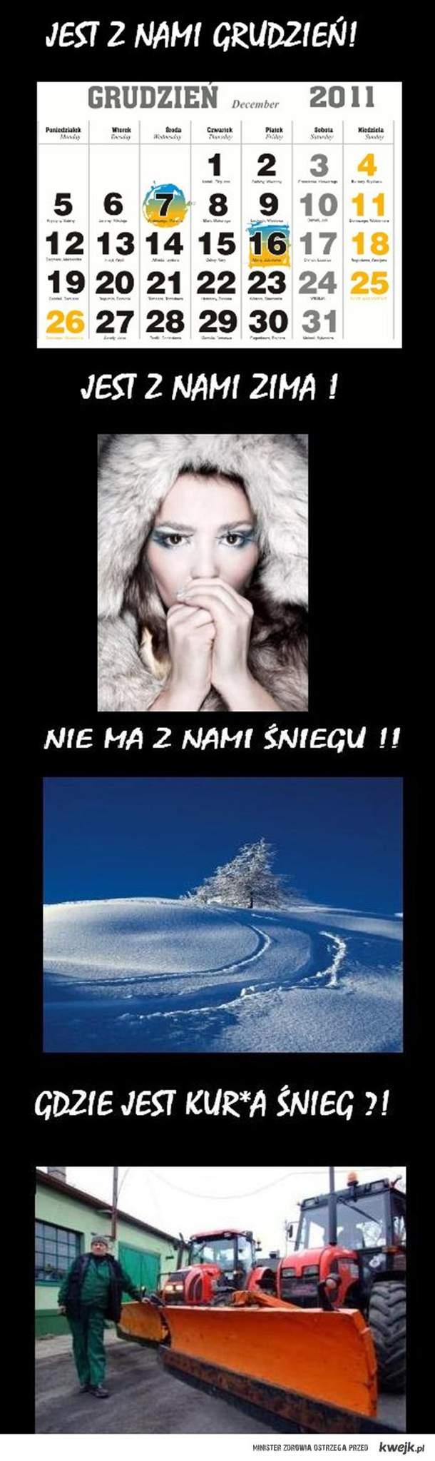 Gdzie Jest Śnieg ?!