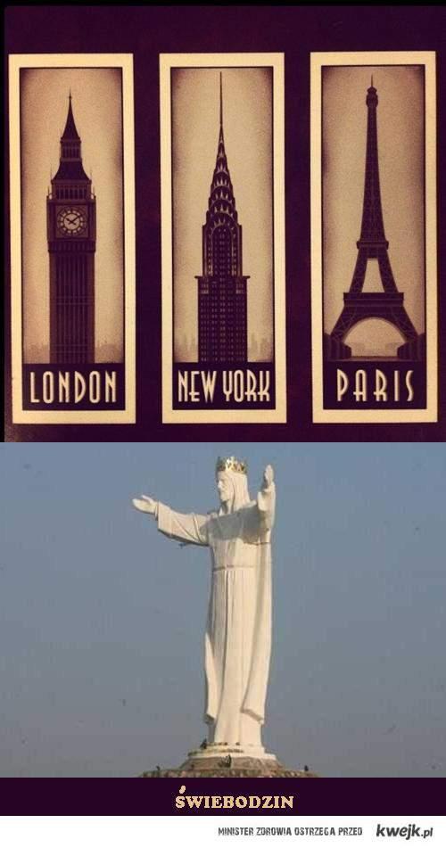 Paris, Londo, NY, Świebodzin