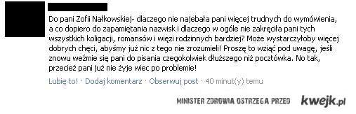 """Po przeczytaniu """"Granicy"""" Zofii Nałkowskiej"""