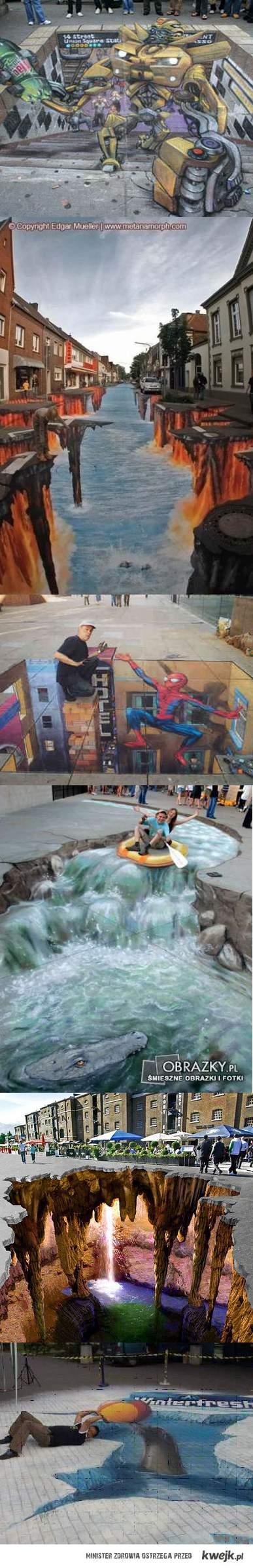 Niesamowite graffiti!