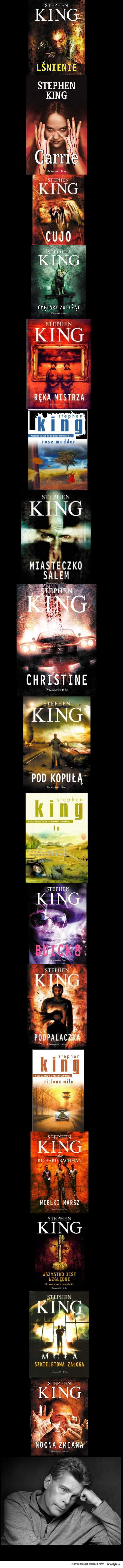 King książki