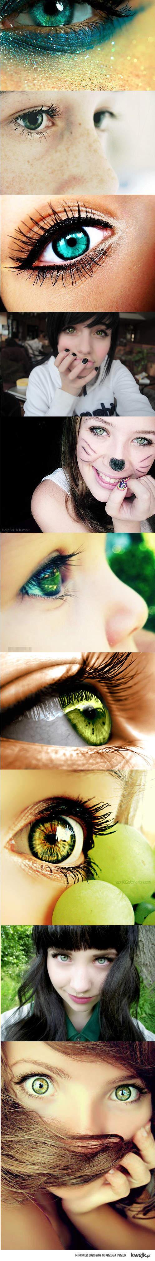 green eyes < 3