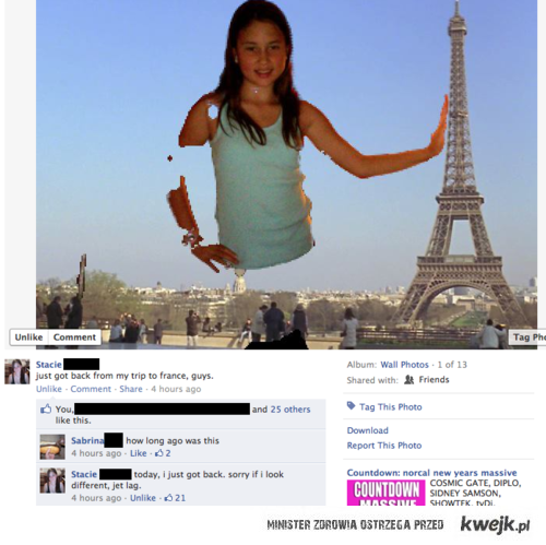 zdjęcie z paryża