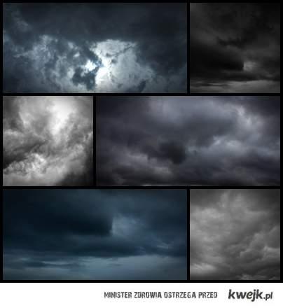 Zachmurzone Niebo