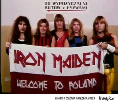 Iron Maiden w Polsce