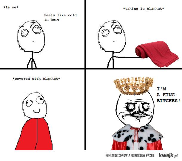 imma king