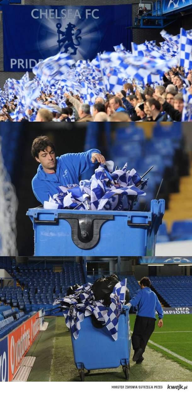Chelsea, jaki klub, tacy kibice...