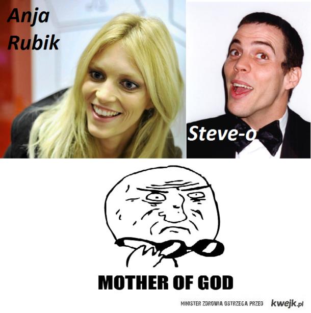 Steve-o/Anja Rubik