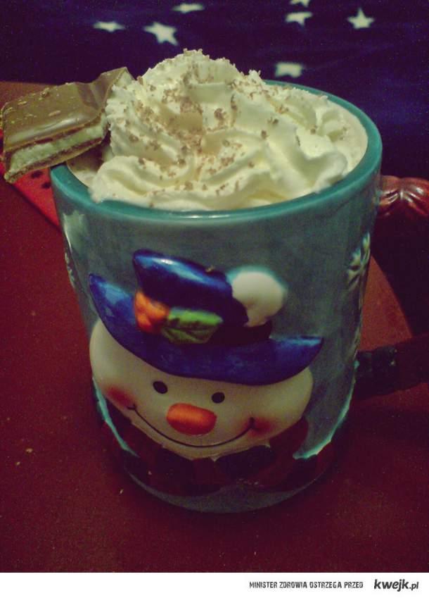 kakao na świąteczne dni .