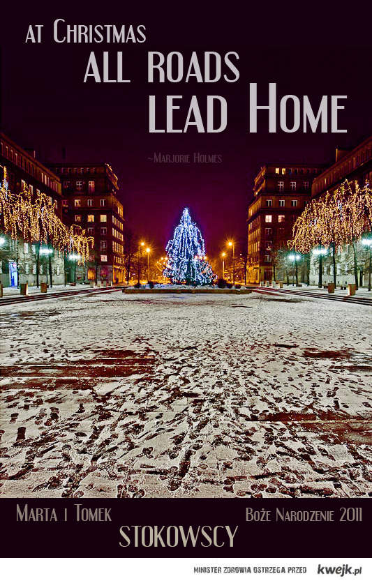 at Christmas, all roads lead home