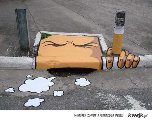 szkodliwe palenie