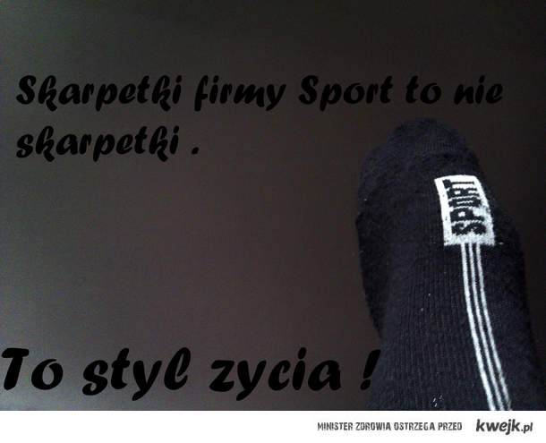 Skarpetki firmy Sport <3