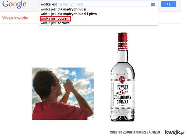 wódka jest bogiem