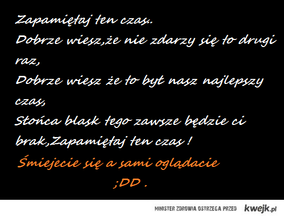 Pamiętniki z Wakacji ;D