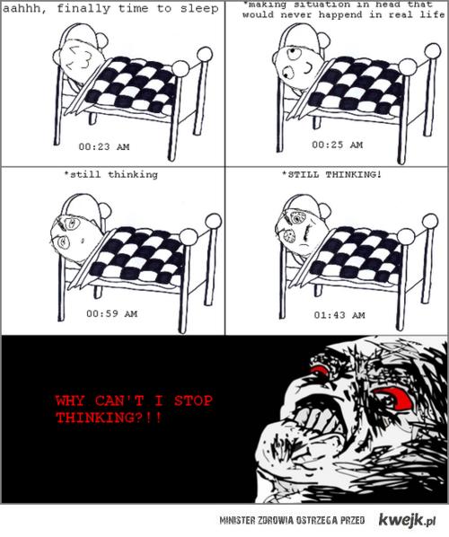 problem z zasypianiem
