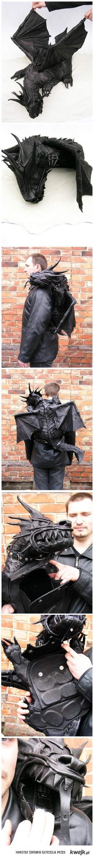 Smoczy plecak