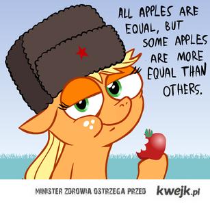 równe jabłka