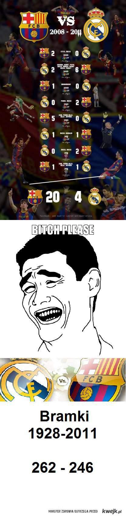 Real vs barcelona