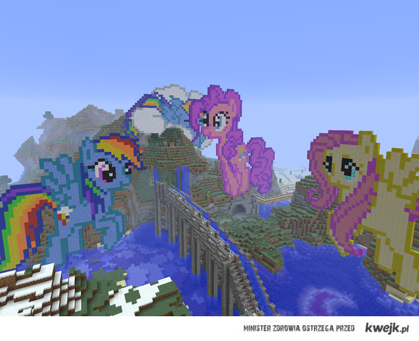 My Little Pony In Minecraft :D