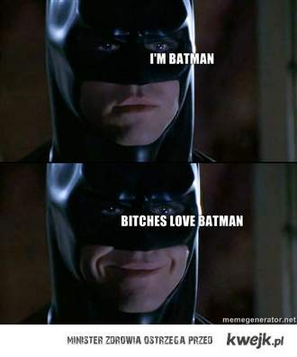 bitches love batman