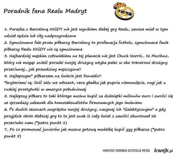 Poradnik fana Realu Madryt