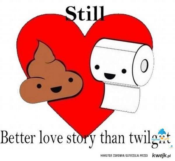Still better love story than Twilight