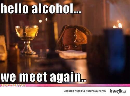 Hello alcochol
