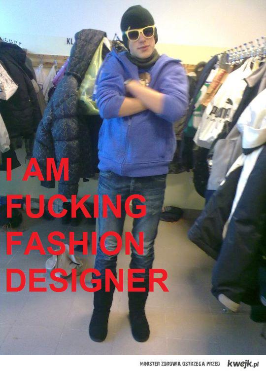 fucking fashion designer