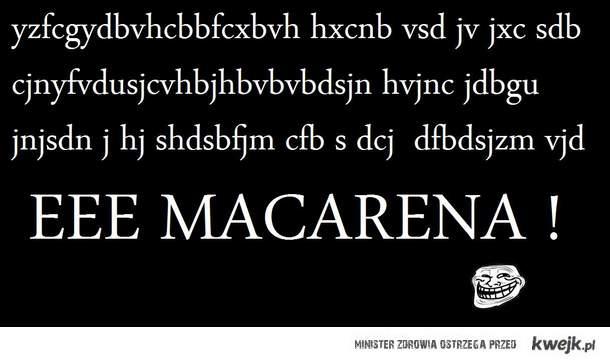 Macarena!