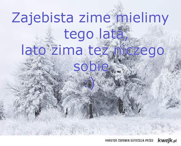 zima latem lato zima