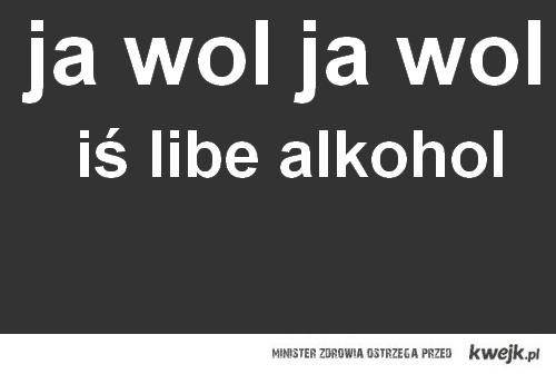alkohol :D