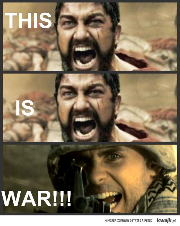 This is WAR!!