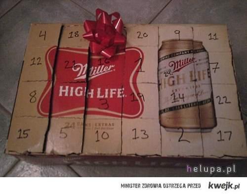 Alternatywny kalendarzyk adwentowy :)