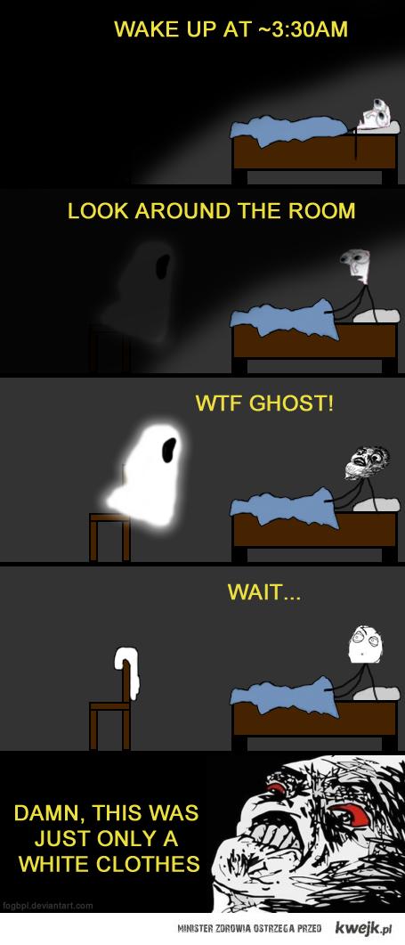 Damn, ghost!