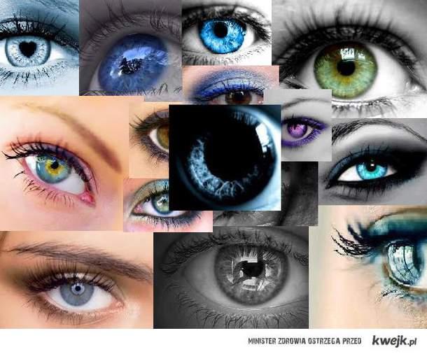 Bo najważniejsze są oczy <3