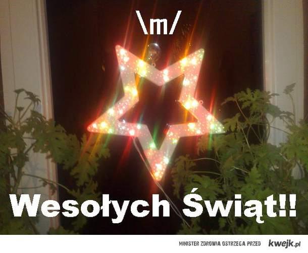 \m/ Wesołych świąt