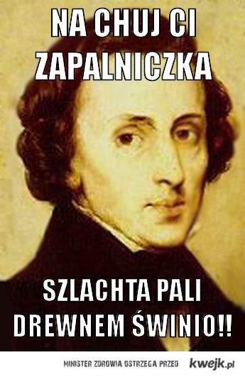 Szlachta Pali Drewnem