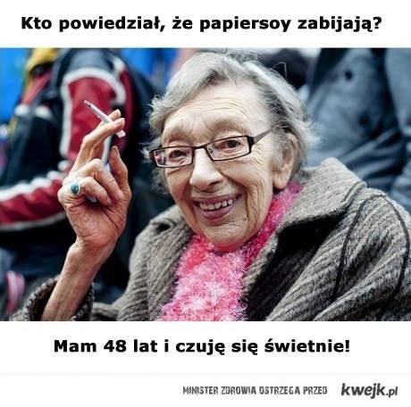 palenie nie zabija