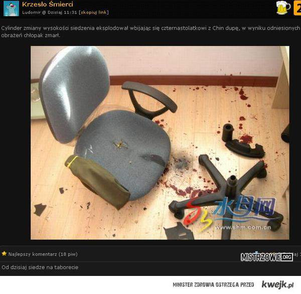 Krzesło śmierci