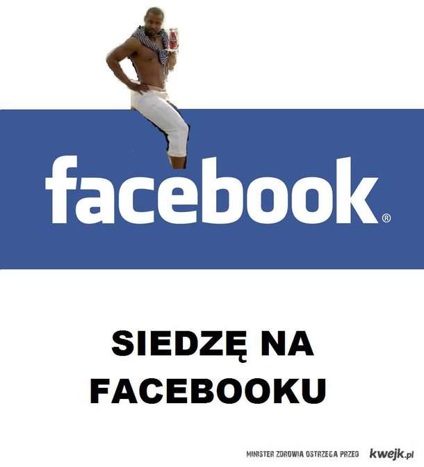 Siedzę na facebooku