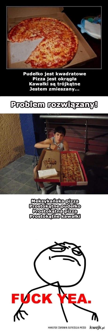 problem z pizzą?