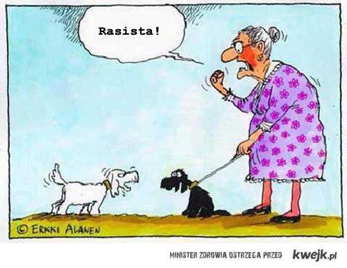 rasistowski pies